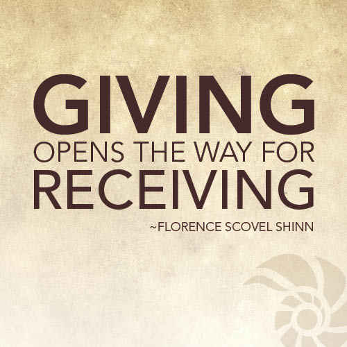 Giving-opens-the-way-for-receiving.-Florence-Scovel-Shinn
